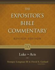 The Expositor's Bible Commentary: Luke---Acts by David E. Garland (2009, E-book)
