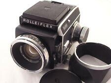 Rolleiflex SL66 Camera with 80mm f2.8 Zeiss Planar lens. Read Description
