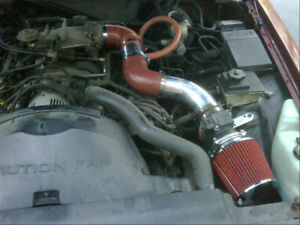 BCP RED 2000 2001 2002 Crown Victoria Town Grand Marquis 4.6L V8 Ram Air Intake