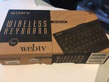 Sony Wireless Keyboard For Sony Web TV Internet Terminal - RM-KW100 webTV