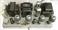 Thordarson T-30W50 Mono Tube Amplifier, Quad 6L6G, 1930s, Clean