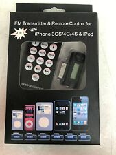 FM Transmitter  & Remote Control For iPhone 3GS/4G/4S & iPod