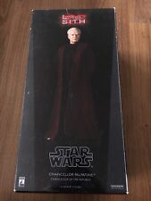 SIDESHOW 1/6 CHANCELLOR PALPATINE / DARTH SIDIOUS STAR WARS