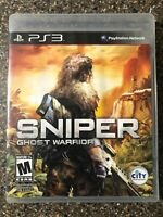 Sniper: Ghost Warrior - PlayStation 3 PS3 - Complete w/ Manual - Tested Working