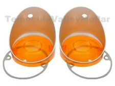 Parking Light Lenses with Gaskets for 1970-1974 Dodge Challenger E-Body