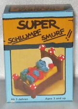 New Smurf in Bed - sleeping NIDB (Schlumpf im Bett) 4.0240 Super Smurf