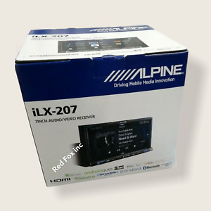 Alpine ILX-207 2 DIN In Dash 7'' iPhone CarPlay Android Touch Screen Receiver