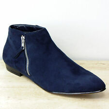 Marks and Spencer Zip Faux Suede Boots for Women