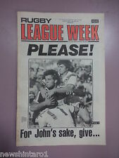 #T108. RUGBY LEAGUE WEEK NEWSPAPER  3/6 1978, NEWTOWN JETS TEAM PINUP