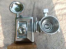 Vintage Large Heavy Retro Aluminum Cameras Lot 2 two different