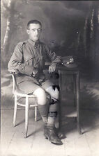 WW1 soldier KD issue Tunic & Shorts Labour Corps Palestine Egypt or India