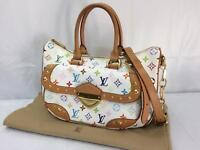 "Auth Louis Vuitton Monogram Multicolor Rita Shoulder Bag 8B120600r"""