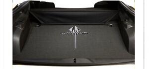 2014-2019 C7 Corvette Cargo Black Carpet Mat with Stingray Logo OEM GM 23469813