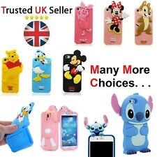 Phone Kids Rubber Silicone Case For Samsung Galaxy S3 S4 S5 Mini & iPhone Covers