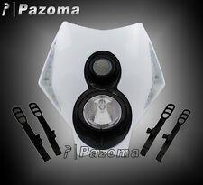 LED Headlight White ENDURO ROAD For KTM 525 530 SXF EXC XCF SUZUKI RMZ DRZ250