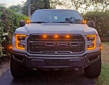 2017 FORD RAPTOR M&R LED HOOD MOUNT 80w Kit