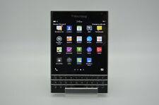 BlackBerry Passport - Sqw100-1 32Gb - Black (Unlocked/At&T/T-Mobi le) Great!