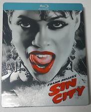SIN CITY (Blu-ray) PREMIUM STEELBOOK EDITION / Region A / Used