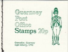 (82762) GB Guernsey Booklet 20p SB11 1973