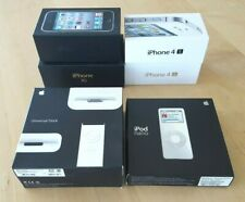 Apple Box lot iPhone 3G, 3GS, 4, 4S,  iPod Nano, Universal Dock w/OEM Access