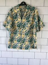 MENS URBAN VINTAGE RETRO IBIZA BEACH BRIGHT BOLD HAWAIIAN FLORAL SHIRT UK M #44