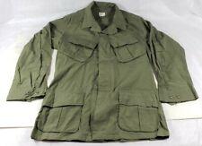 Vintage Vietnam Era Military Combat Tropical Coat Slant Pocket Richard Wynn