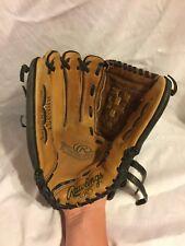 "MENS Rawlings Rbg36bt Leather Baseball Softball Fielders RIGHT Glove 12.5 1/2"""