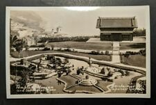 Mint Vintage Temple Heaven Bernhiemer Japanese Garden Real Photo Postcard RPPC
