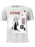 Marilyn Monroe Playboy BNNY T Shirt Men Women Unisex Party Tshirt M782