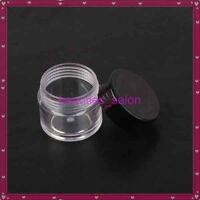 2Pcs 10ml Empty Container Box Case For Nail Art Glitter Dust Powder Rhinestone