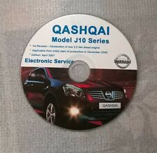 NISSAN QASHQAI J10 SERIES MANUAL DE TALLER WORKSHOP MANUAL