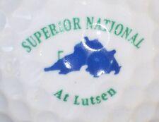 (1) Superior National At Lutsen Golf Course Logo Golf Ball (Minnesota)