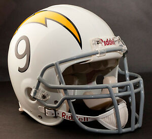 DREW BREES Edition SAN DIEGO CHARGERS Riddell THROWBACK Football Helmet NFL