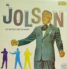 AL JOLSON-LET ME SING AND I´M HAPPY LP VINILO 1985