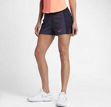 Nike Baseline short - dynasty purple & orange in adult medium (UK 12-14)