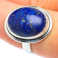 Lapis Lazuli 925 Sterling Silver Ring Size 8.25 Ana Co Jewelry R52886F