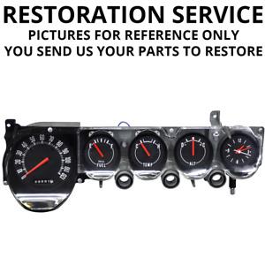 RESTORATION SERVICE | 1970-74 Mopar E-Body | Non-Rallye Dash