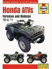 Reparaturhandbuch Honda Quad Foreman 400, 450, 500 95-11