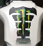 Monster Motorcycle Tank Pad Protector # Motorbike Spine Sticker