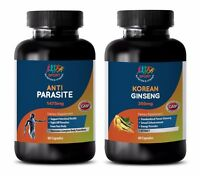 parasite and worm cleanse - ANTI-PARASITE - KOREAN GINSENG COMBO 2B - black waln