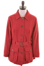 TIMBERLAND Womens Jacket Size 6 XS Red Polyester