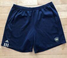 Adidas Team Vintage University Of Notre Dame Basketball Shorts Mens XL