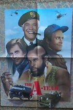 THE A-TEAM 1984 FAN CLUB RARE PROMO PROMOTIONAL POSTER GEORGE PEPPARD