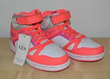 Marks and Spencer Brand new girls kids high top trainers elastic laces size 7