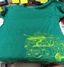 TMNT Original Cartoon Turtle Van Version T-Shirt July 2017 Loot Crate Men's L