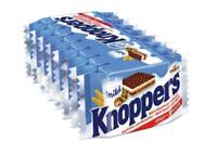 Knoppers Crispy Milk Hazelnut and Wafer Bar, 8-.88oz Bars, Net Wt. 7 Oz