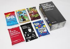 Cards Against Humanity UK Edition 2.0 Original Game + 6 Expansion Packs Set