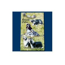 Inchiostro Roller Penna Cane Razza Ruth maystead linea sottile-BEARDED COLLIE DOG