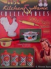 30's 40's 50's KITCHEN MEMORABILIA COLLECTOR'S BOOK Tin Can Apron Mixer Pot Bowl