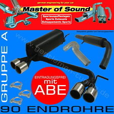 MASTER OF SOUND GR.A DUPLEX SPORTAUSPUFF Opel Corsa C 1.0 1.2 1.3 1.4 1.7 1.8